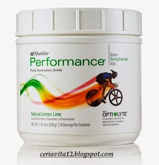banyak kelebihan performance drink