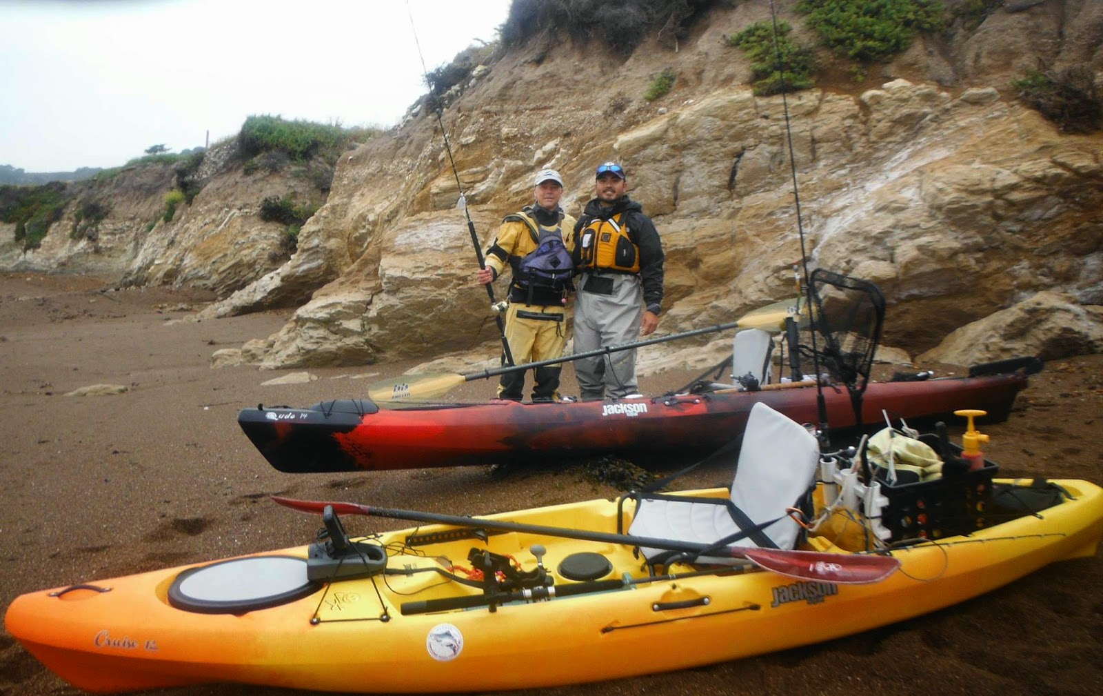 Kayak fishing the central coast for Kayak fish stringer