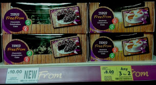 Free From Cakes at Tesco