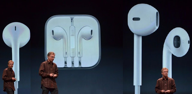 Apple iPhone 5 Event September 12 EarPods