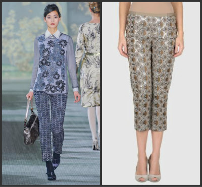 Fall 2012 brings tweeds and intricate embroidery designs