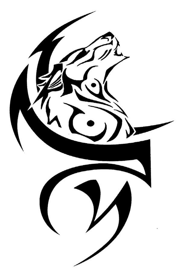 tribal wolf tattoos tattoos life style. Black Bedroom Furniture Sets. Home Design Ideas