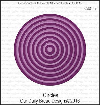 Our Daily Bread Designs Custom Dies: Circles