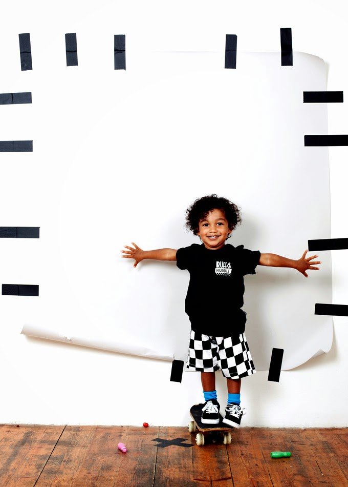 Ruff and Huddle casual streetwear for spring 2014 kidswear collection
