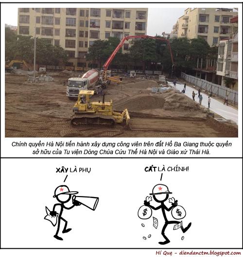 HÍ QUẸ: Chuyện xây cất ....