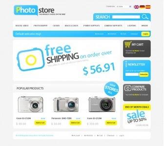 Photo Store Theme