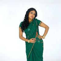 Monica photoshoot in saree