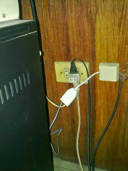 pldt replaced our dsl-phone splitter