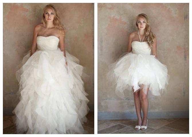 convertible ball gown wedding dress