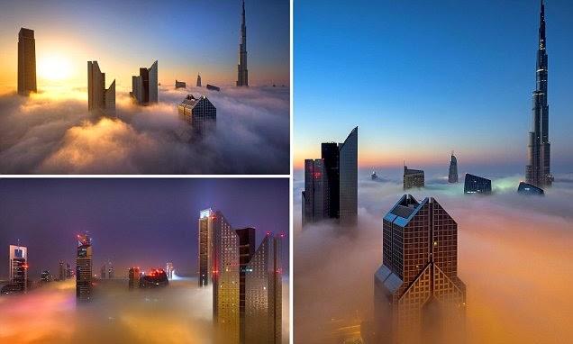 مجموعة صور لناطحات سحاب دبي