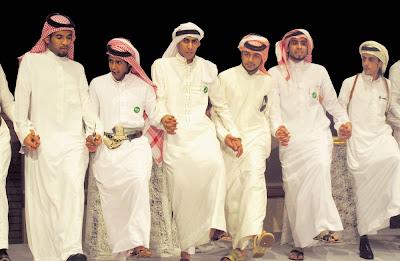 Saudi Line Dancing