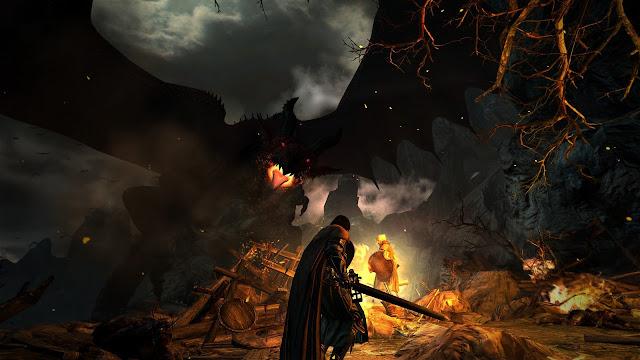 Screenshot Gameplay Dragon's Dogma : Dark Arisen