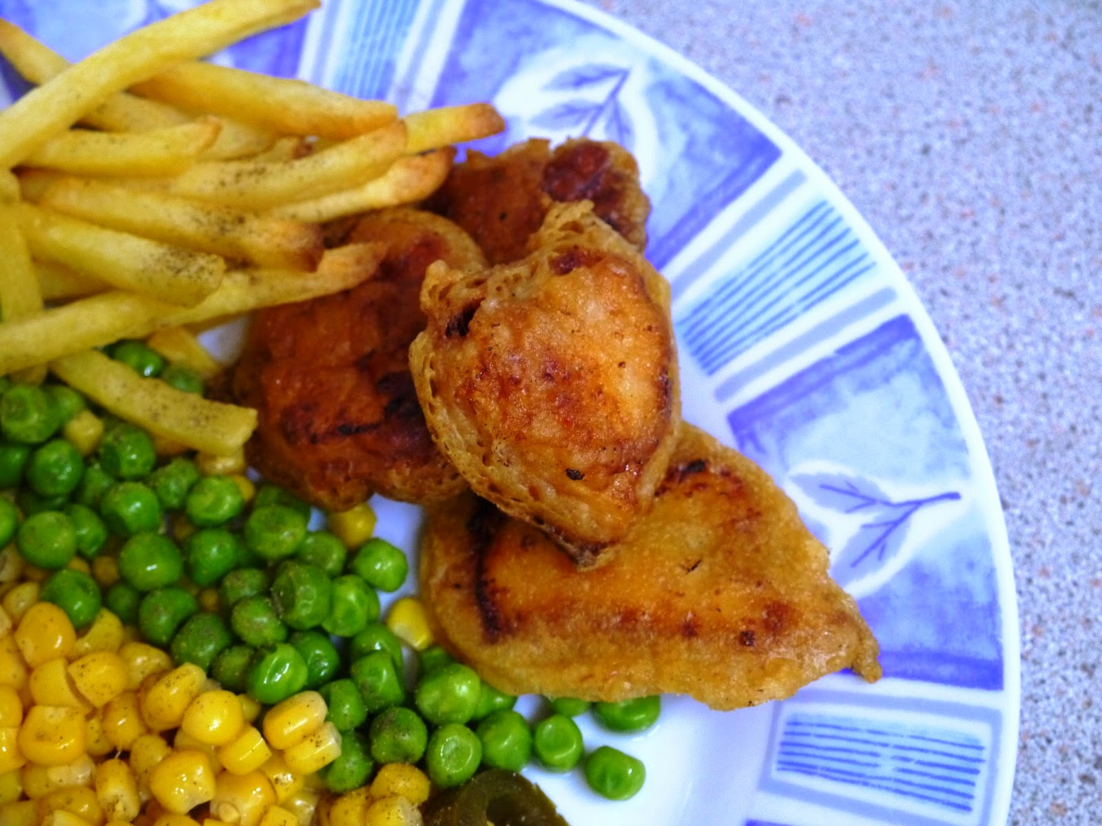 Double-Fried Chicken With Lemons And Jalapenos Recipe ...