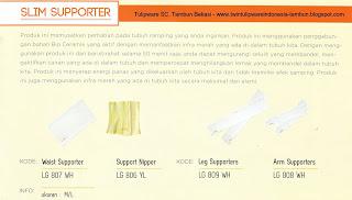 Info & Harga Twin Tulip Lingerie 2014 : Waist Supporter | Support Nipper | Leg Supporters | Arm Supporters - Romance Chezreine