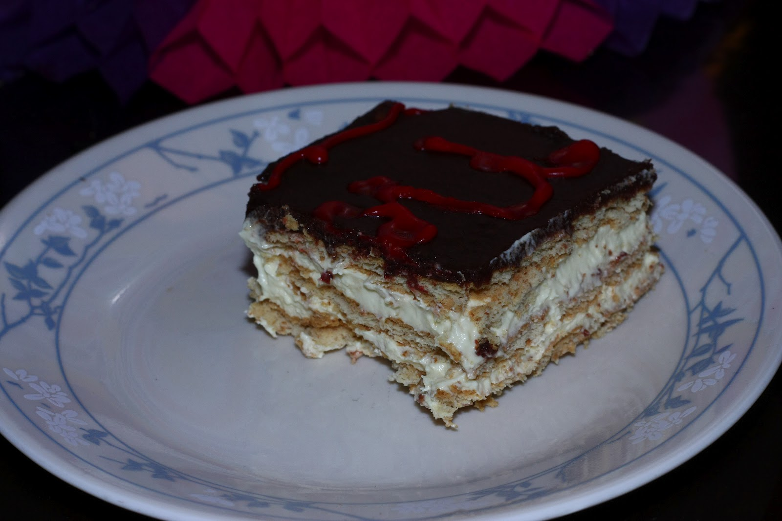 Easy Indian recipes: Chocolate Eclair cake-No Bake