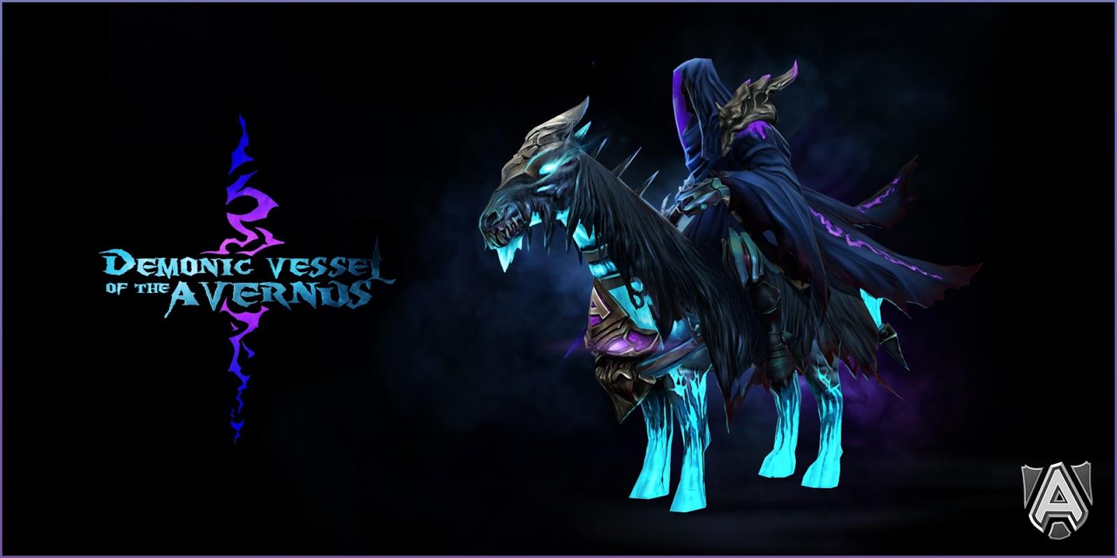 dota2 mod abaddon arsenal of the demonic vessel legendary items