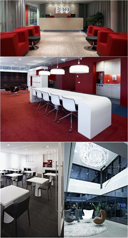 desain kantor modern BDO