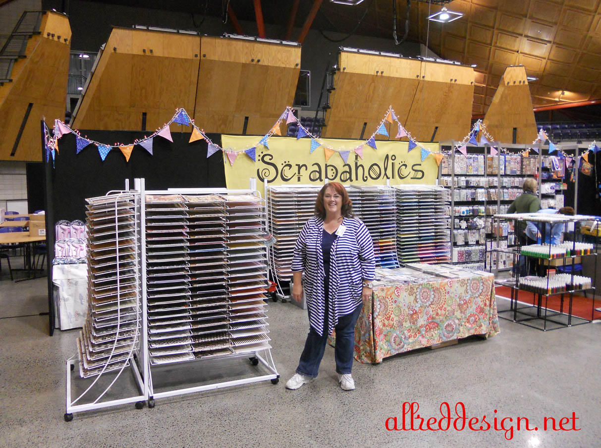 teaching at senz 2011 nz scrapbooking cardmaking and craft expo