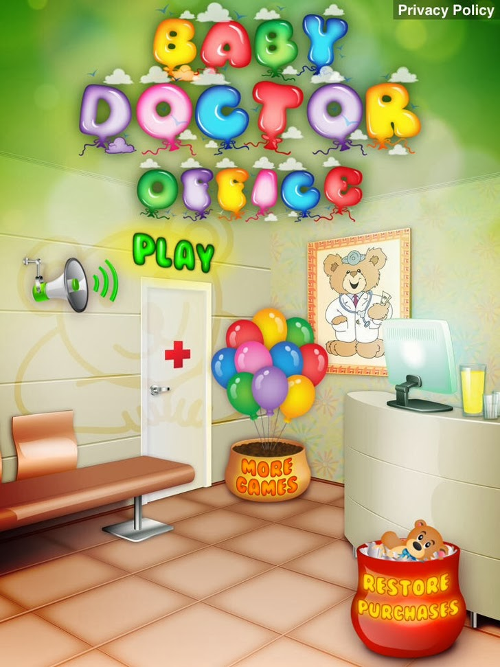 Baby Doctor Office App iTunes App By Ninjafish Studios - FreeApps.ws