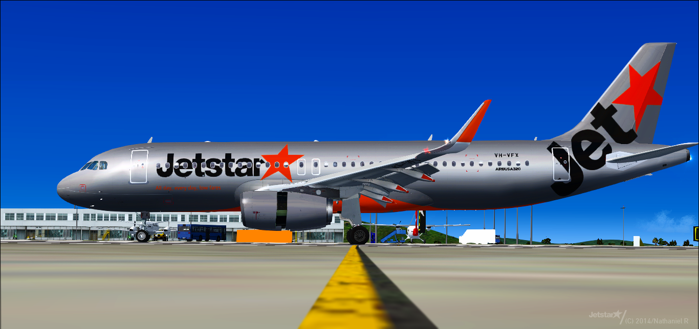 Airbus A320-232(SL) - Jetstar Airways - VH-VFX ~ justsomewritings