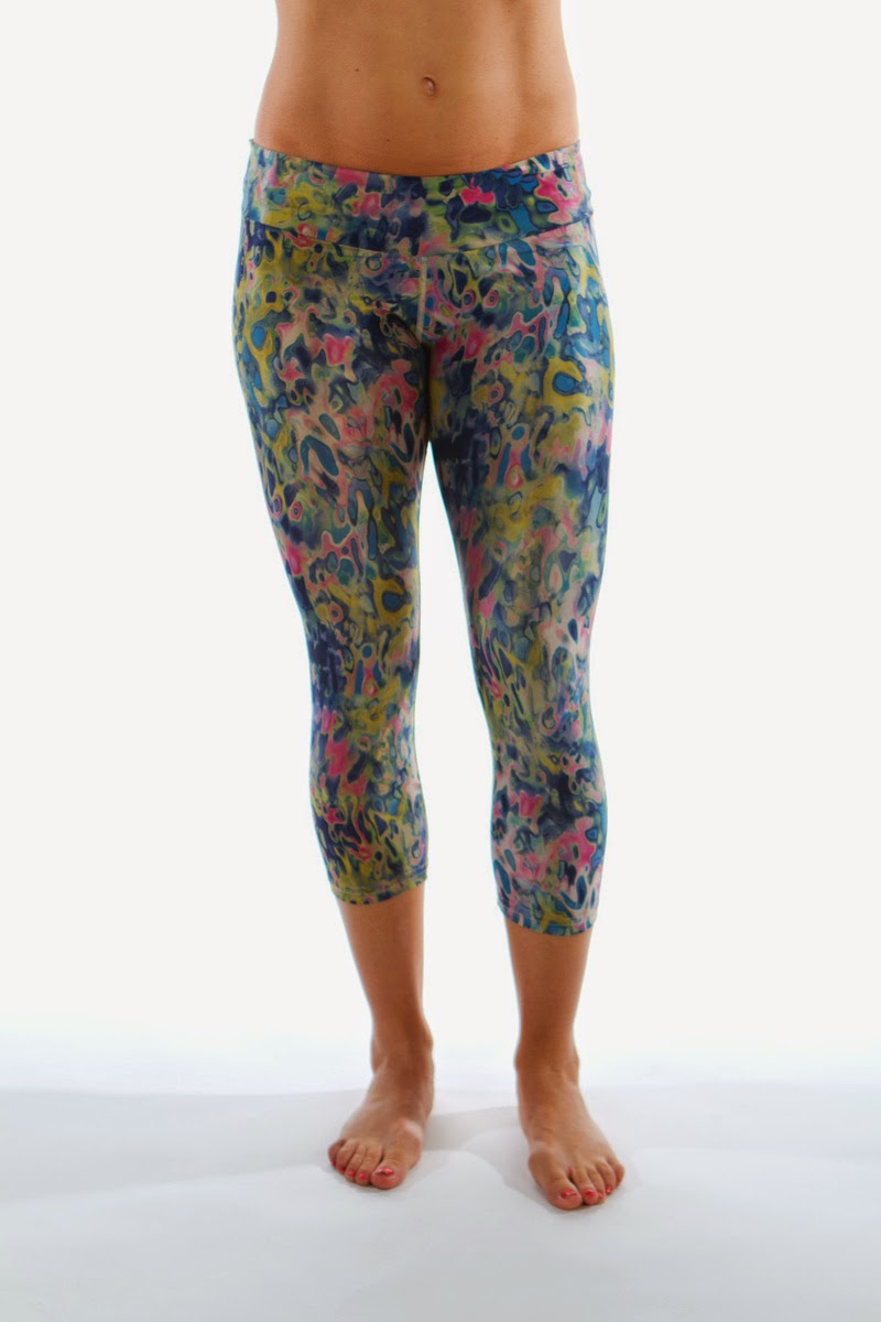 Style Athletics Zweet Sport The Kelly and Monte Carlo Capris Floral