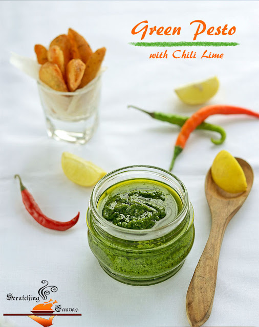 Green Pesto with Chili Lime