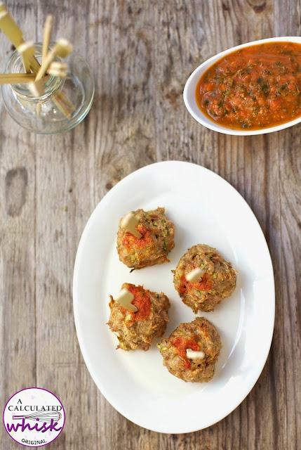 Chicken Meatballs with Garlic Kale Marinara (Paleo, Whole30)