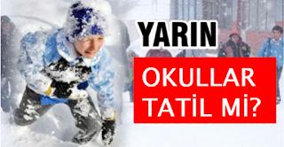 31.12.2015 İstanbul'da Okullar Tatil Edildi! Son Dakika Valilik Açıklaması İstanbulda Okullar Tatil Mi Edildi..