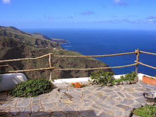 View from cottage, Garafia, La Palma