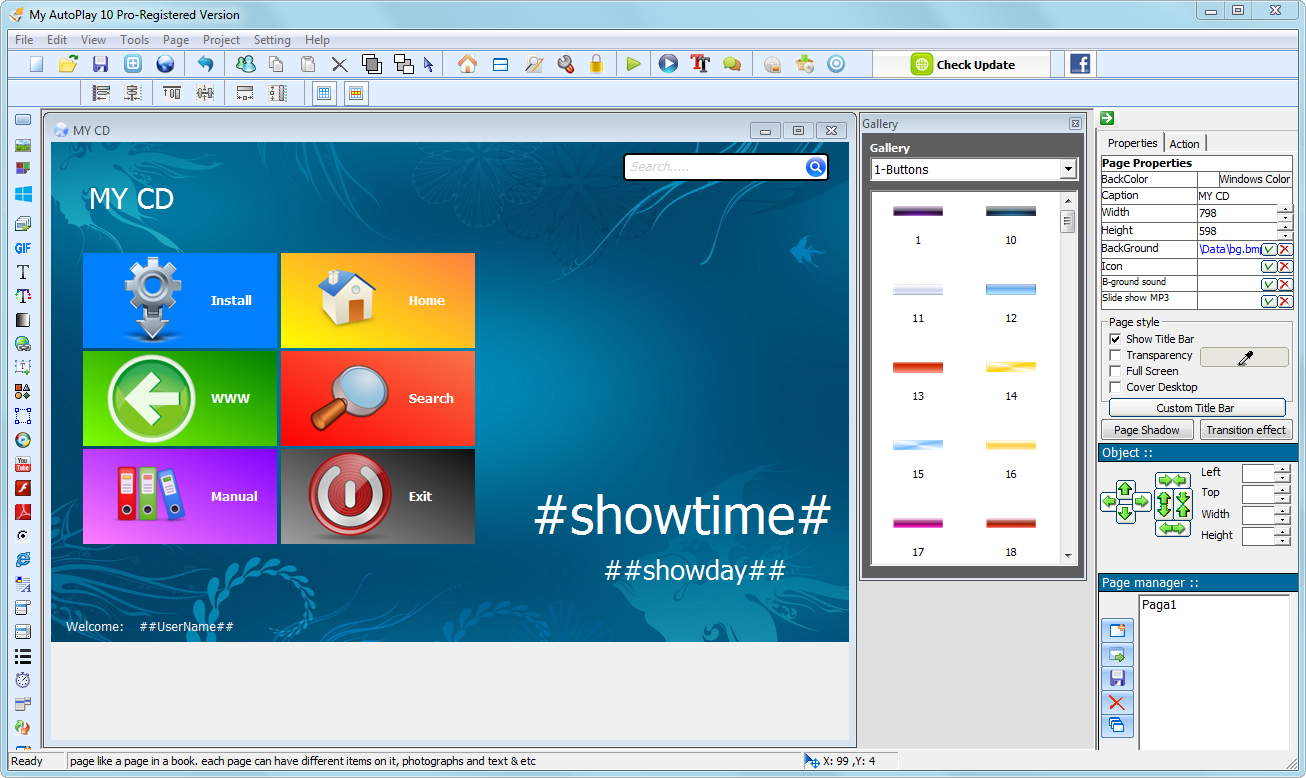 just click download  autoplay menu builder 7 0 build 2185