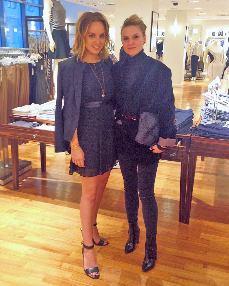 Kelly Framel from the Glamourai, Ann Taylor LBD little black dressed, fashion over reason Hélène HEath