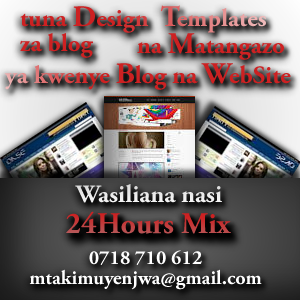 Design Template ya Blog