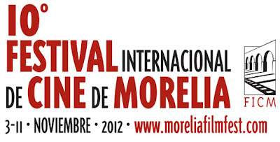 Cartel Festival Internacional de Cine Morelia 2012