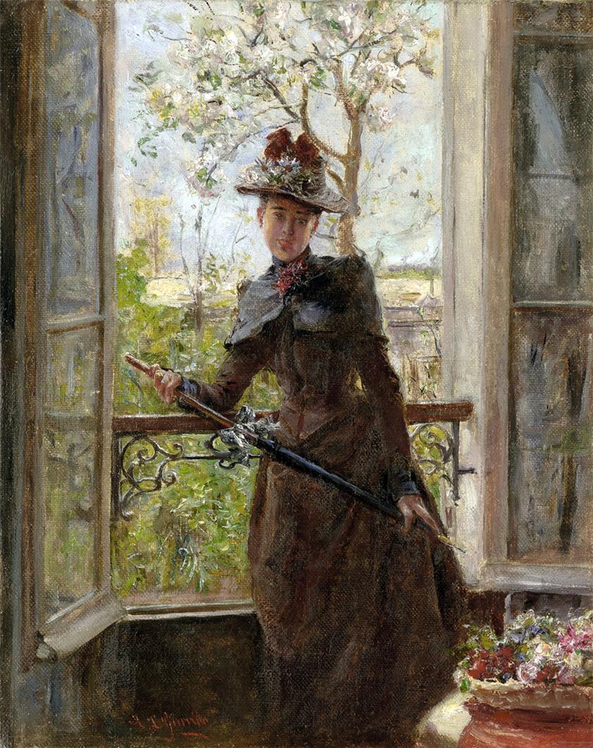 Eduardo le n garrido pintor espa ol 1856 1906 - Trabajos de pintor en madrid ...