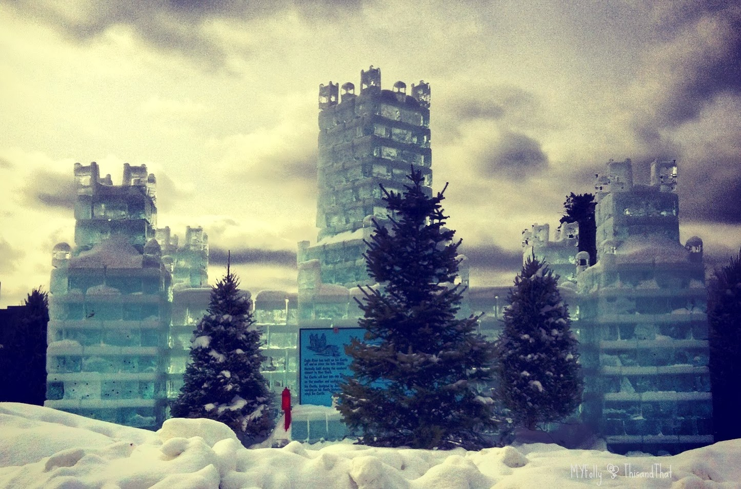 Eagle River Ice Palace - This and That
