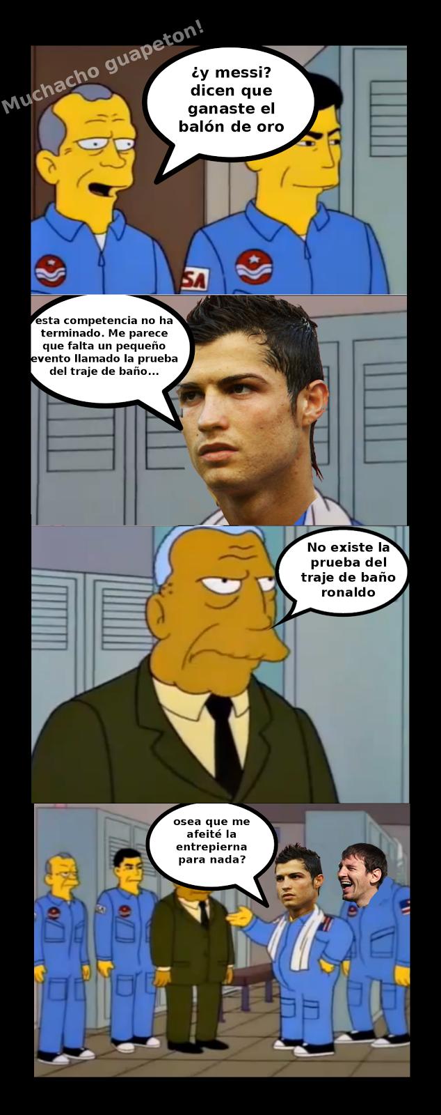 Mejor Futbolista del Año Ronaldo-Messi