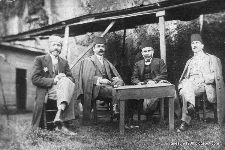 Ottoman Gentlemen at Black Sea c. 1900