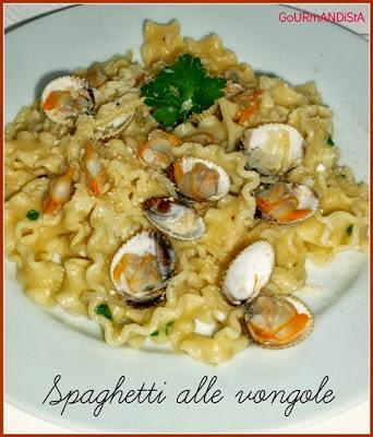 image Spaghetti alle vongole (ou pâtes aux coques)