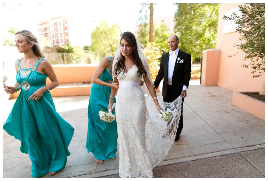 Real Midsummer Night's Dream Marrakech Wedding: Tami & Alan