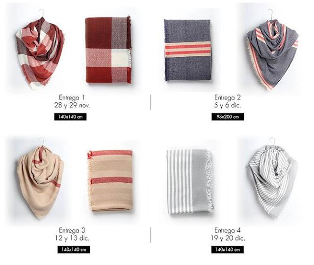 Colección maxi bufandas El Periódico
