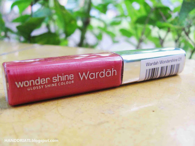 Lipgloss Wardah Wondershine No. 01 Cinnamon Red