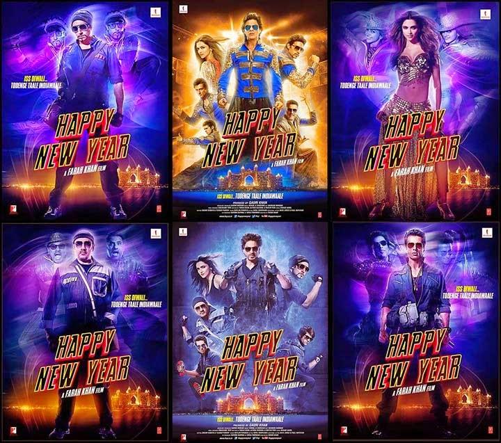Happy New Year - Shah Rukh Khan, Deepika Padukone, Abhishek Bachchan, Sonu Sood, Boman Irani, Vivaan Shah, Vishal Shekhar, Irshad Kamil, Farah Khan, Gauri Khan
