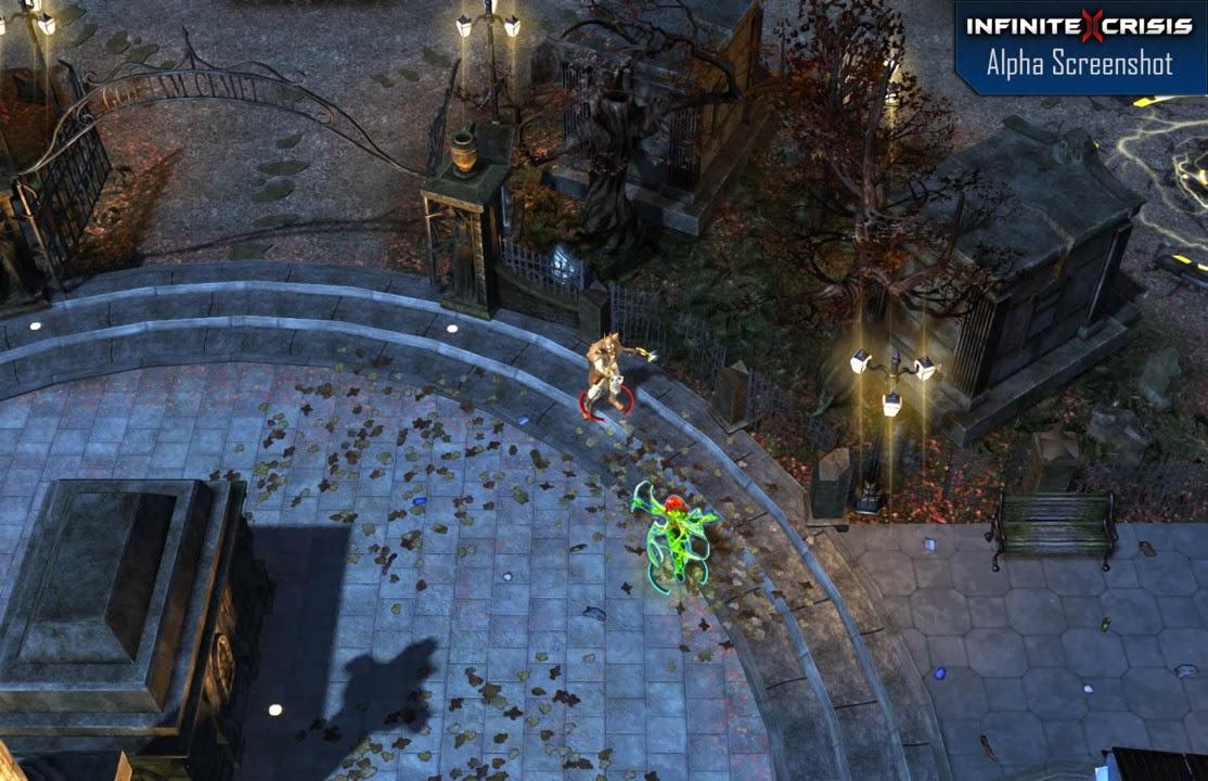 Infinite Crisis MMORPG Screenshot
