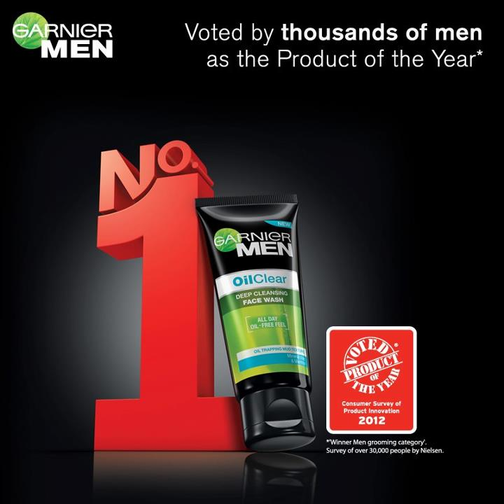 Best Face Wash for Men - Garnier Men Oil Clear Face Wash Voted  Product Of  The Year  454071e4f9055