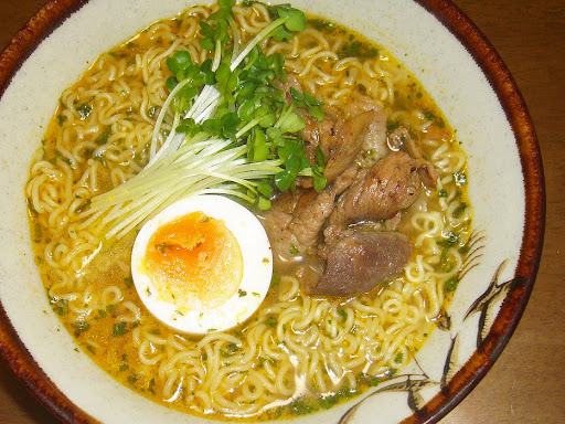 【Ngon Lam Vietnam】Rau mùi パクチーラーメン(袋)