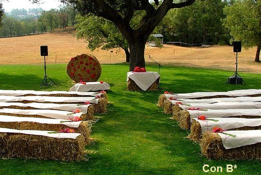 Decoracion Matrimonio Civil Sencillo ~ Con B de Boda  ?C?mo decorar una boda civil?