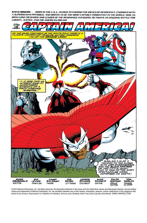 Captain America (1968) Issue #415 #364 - English 2