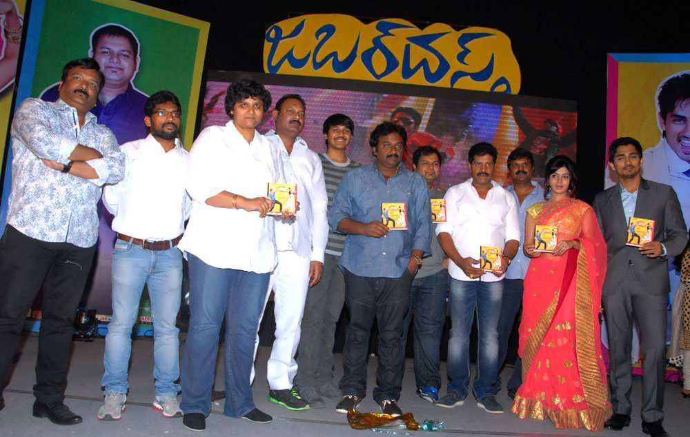 Siddharth's Jabardast Movie Audio Launch Images Gallery