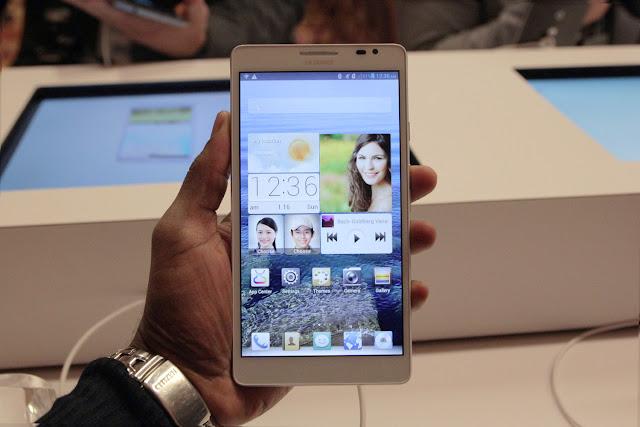 Huawei Ascend Mate, el phablet de Huawei