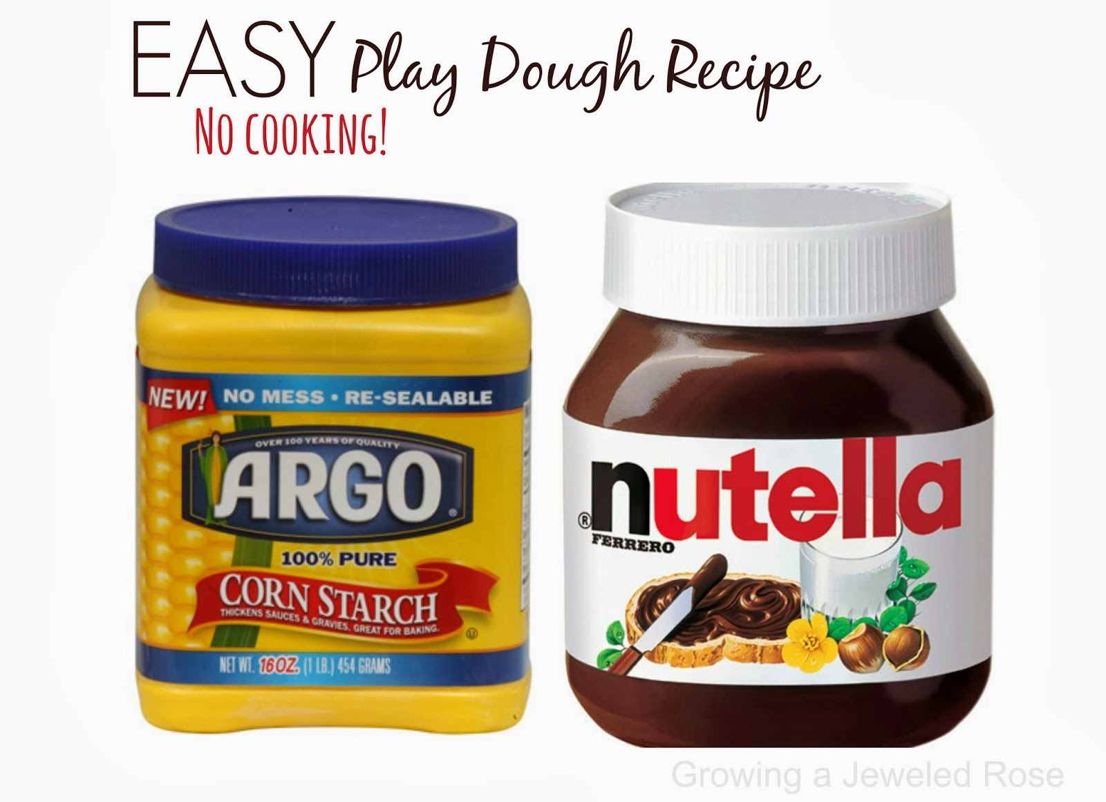 Make chocolate play dough using items from your pantry. This dough would be lots of fun for Valentine's Day or any day you need a QUICK activity for the littles {Edible, no cook, EASY!}